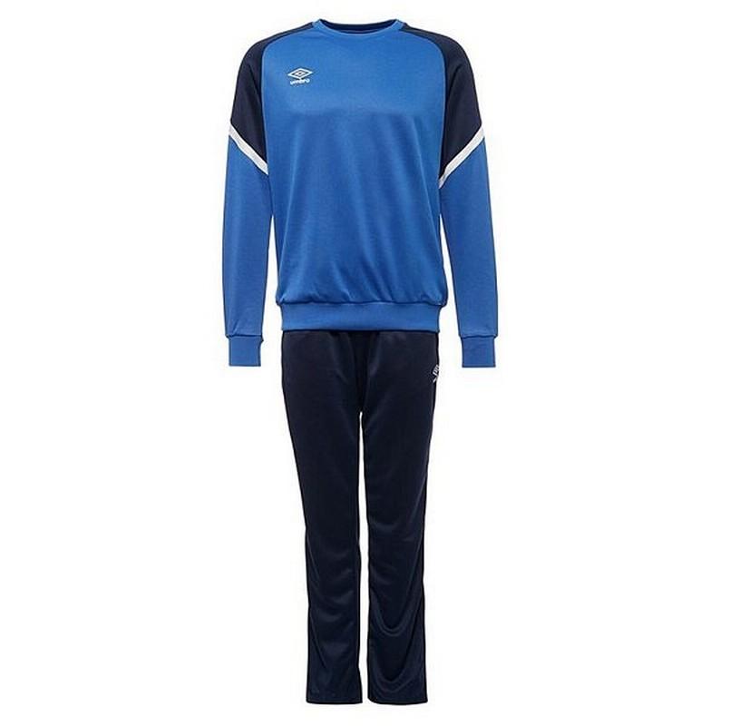 Костюм спортивный Umbro Avante Poly Suit мужской 350217 (791) син/т.син/бел.