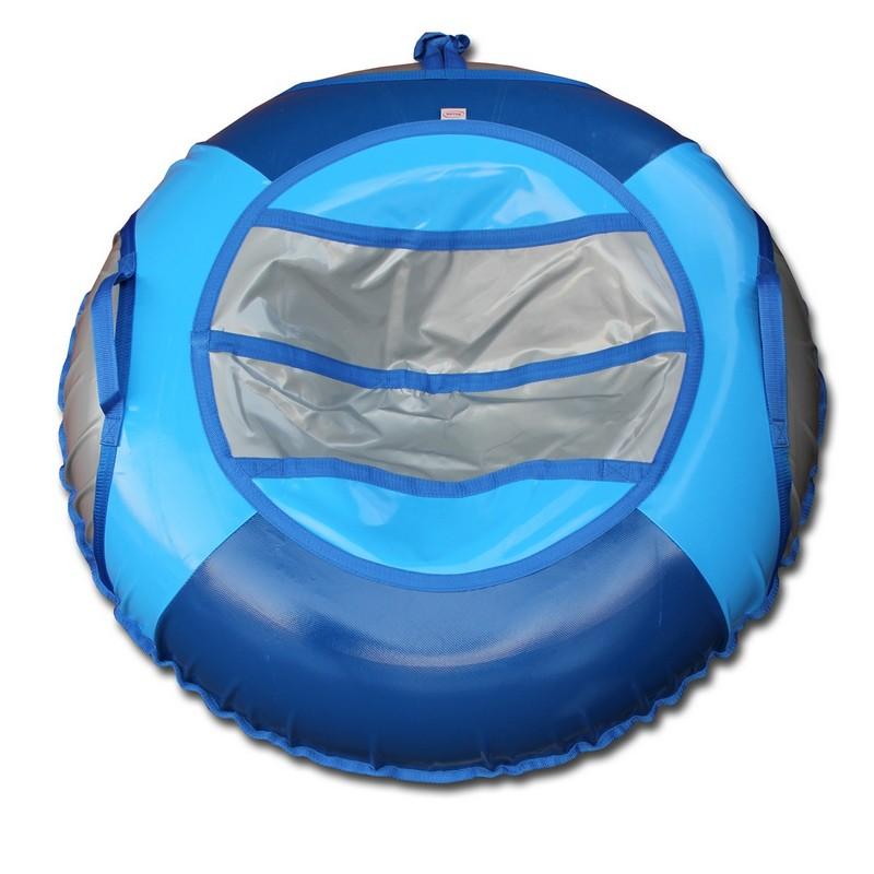 Тюбинг Belon Тент, 70 см, СВ-002-Т1 серый-синий-голубой тюбинг 1toy winx надувные сани 85см т59054