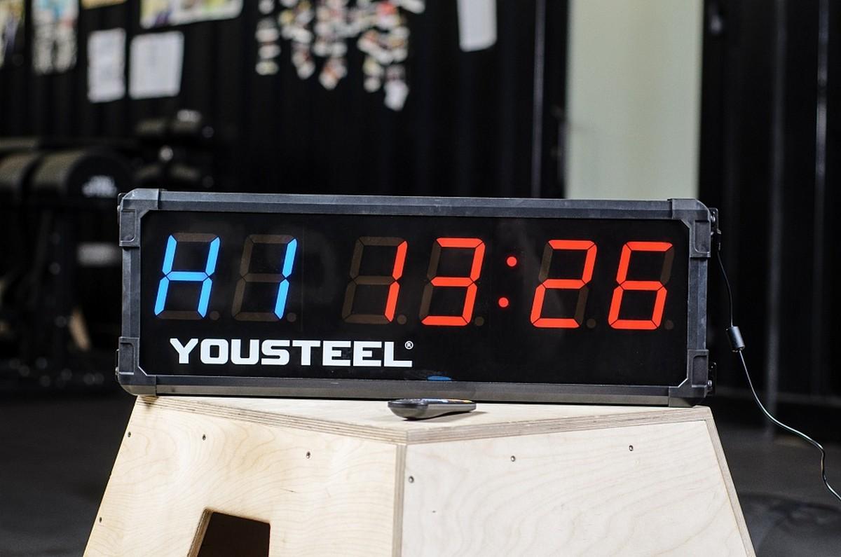 Купить Таймер электронный с двумя экранами YouSteel Double screen 6 digit timer,