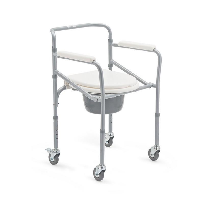 Кресло-коляска с санитарным оснащением для инвалидов Armed FS693 чехлы колеса детской коляски