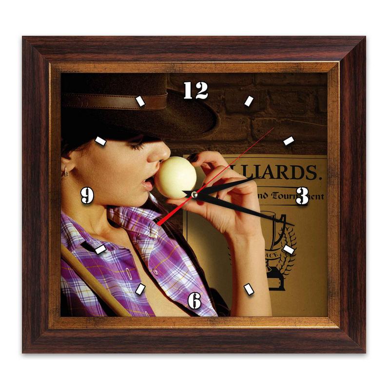 Часы AFG Бильярд AFG7803 38х41см