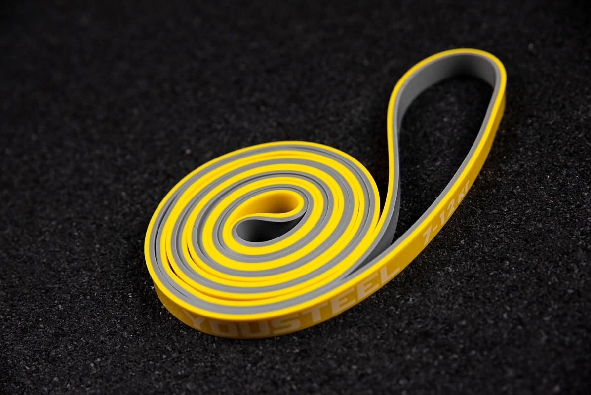 Петля двухцветная YouSteel 13мм, серый+желтый,  - купить со скидкой
