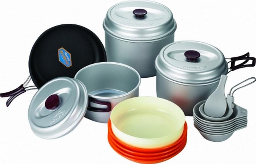 Туристическая посуда Kovea KSK-WY78 на 7-8 персон кастрюля interos 15231 маслины 5 7 л углеродистая сталь