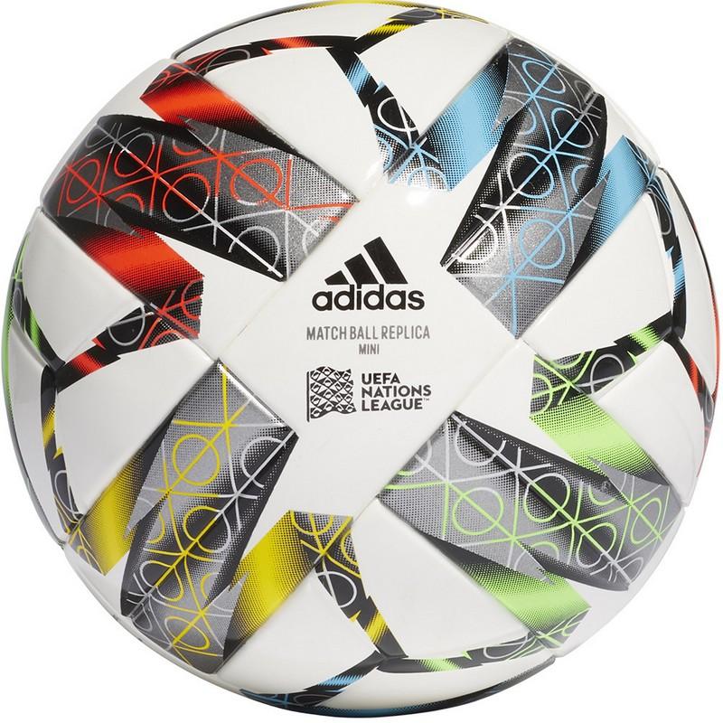Купить Мяч сувенирный Adidas Uefa NL Mini GC7385 р.1,