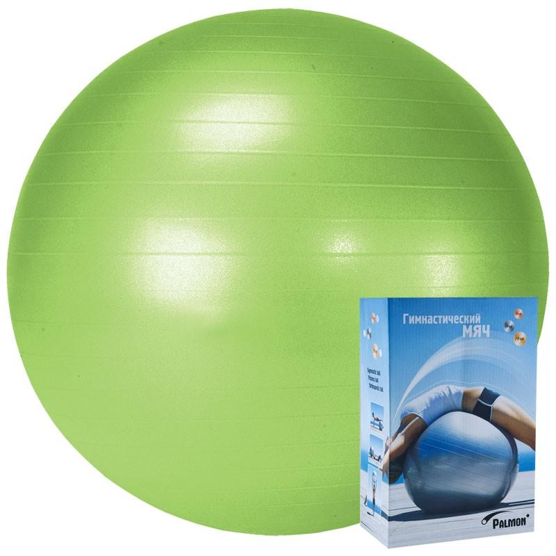 Мяч гимнастический Palmon r324055, 55 см, зеленый