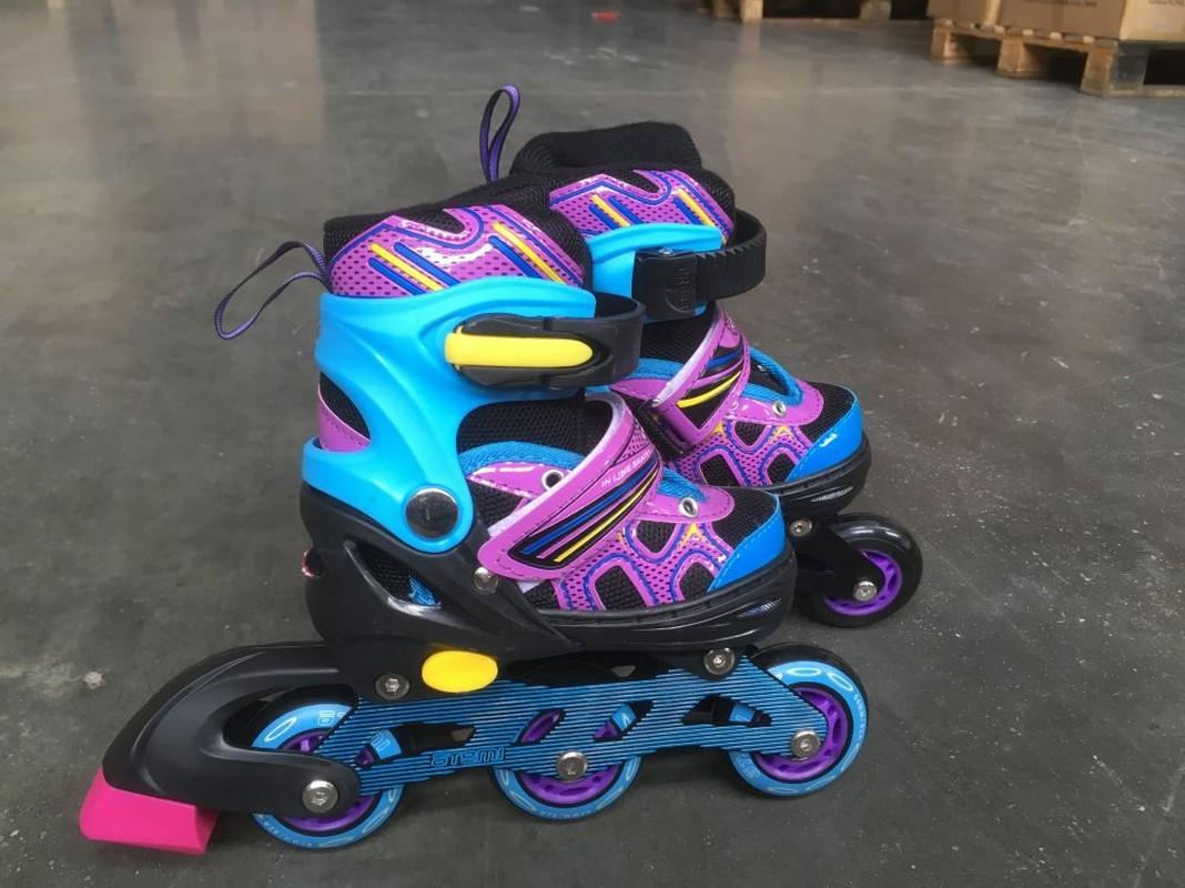 Раздвижные роликовые коньки для детей Atemi AJIS-19.02
