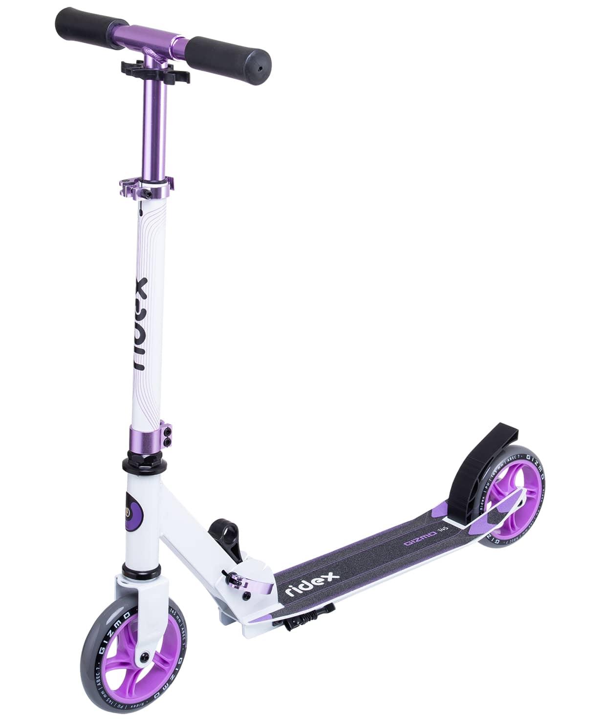 Купить Самокат 2-колесный Ridex Gizmo d145 мм, фиолетовый,