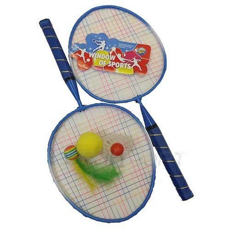 Набор для бадминтона TX97872 набор для бадминтона пляжный 2 ракетки пластмасовые волан