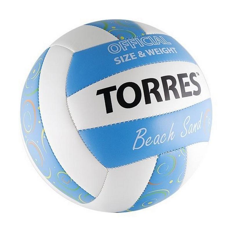 Волейбольный мяч Torres Beach Sand Blue (р.5) V30095B любительский