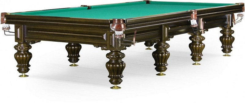 Стол / пирамида Dynamic Billard Turin 12 ф (черный орех) 55.984.12.5