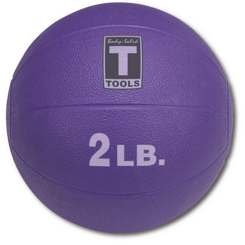 Медицинский мяч 0,90 кг Body Solid BSTMB2 пурпурный body solid mb507rg