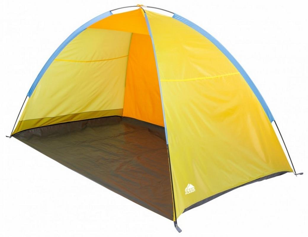 Тент пляжный (220x130x120см) Trek Planet Virginia Beach 70264 желтый/оранжевый