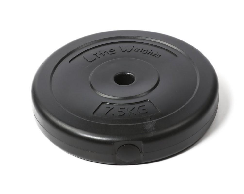 Диск пластиковый Lite Weights d26мм 7,5кг 1084LW черный