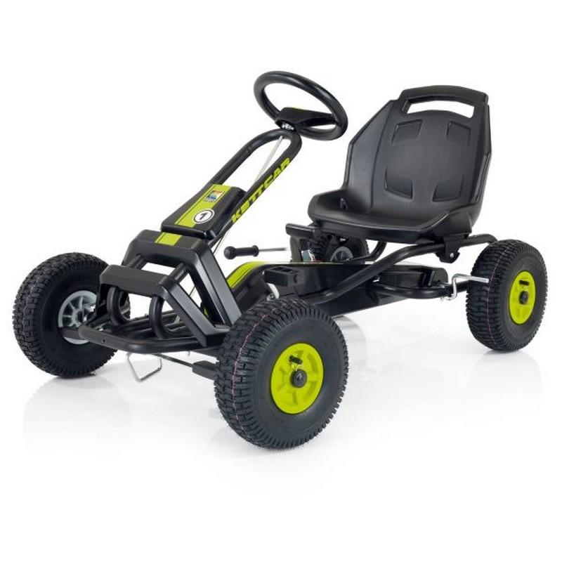 Купить Детская педальная машина Kettler Кетткар Barcelona Air T01050-0010 green, Веломобили