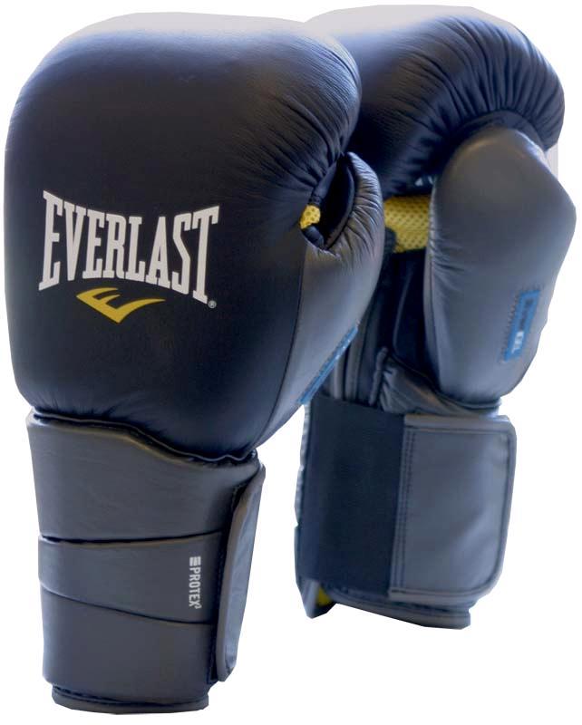 Купить Перчатки снарядные Everlast Gel ProTex3 12-16oz SM/L,XL 111201GLU,