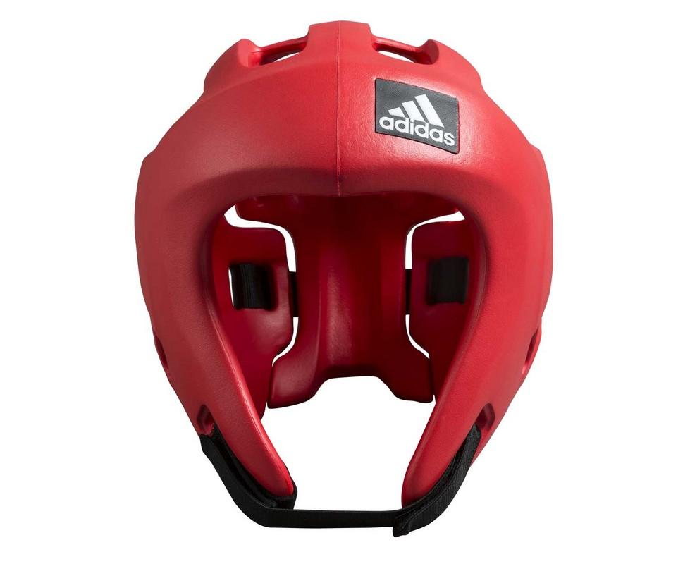 Шлем для единоборств Adidas Adizero красный adiBHG028