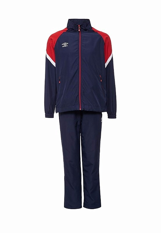 Костюм спортивный Umbro Avante Woven Suit мужской 460117 (921) т.син/красн/бел.