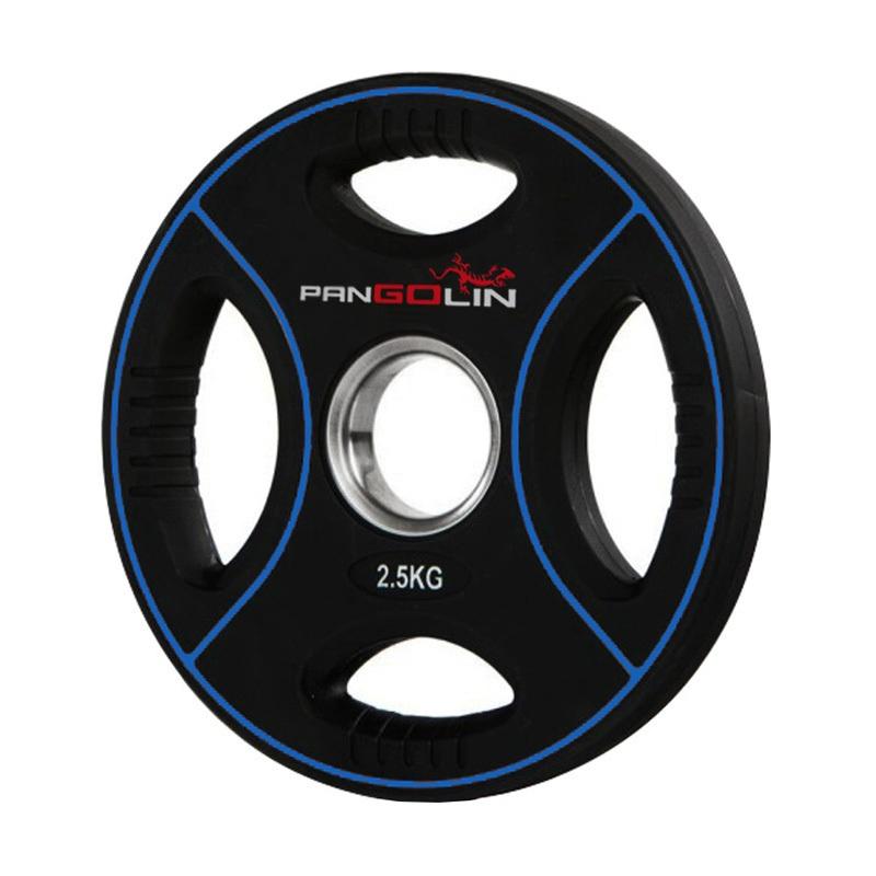 Купить Диск олимпийский d51мм Pangolin X-Line WP012PU 2,5кг черный с синими полосами,