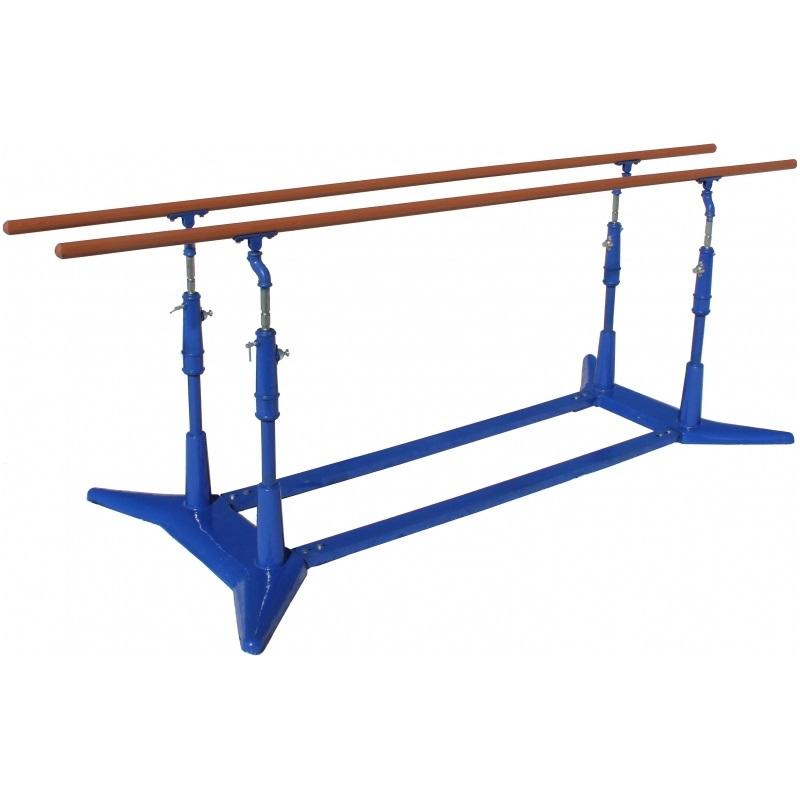 Брусья гимнастические мужские деревянные жерди Спортивные Технологии