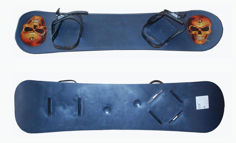 Сноуборд пластиковый с креплениями NoName Атлант А12013