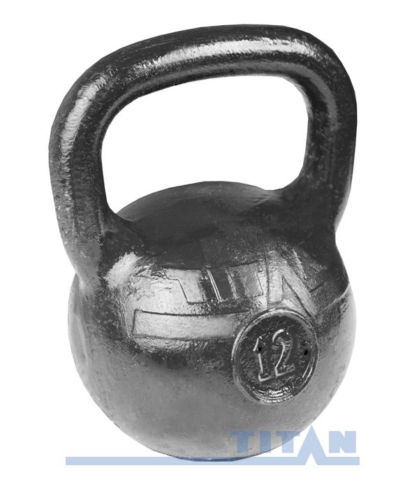Гиря 12 кг MB Barbell Titan