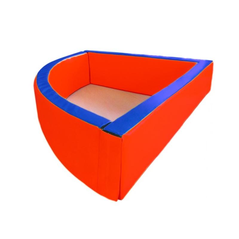 Купить Сухой бассейн угловой 1500х500х100 мм Dinamika ZSO-003033, Сухие бассейны