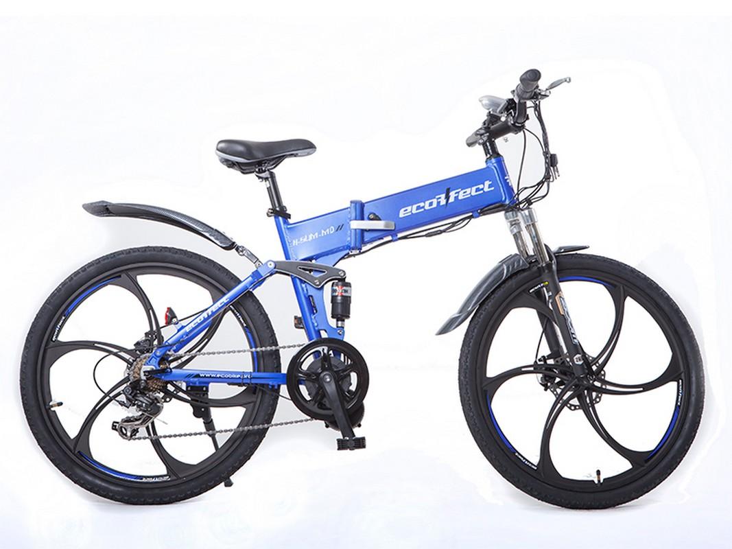 Электровелосипед Ecoffect H-Slim 26 Midle Drive