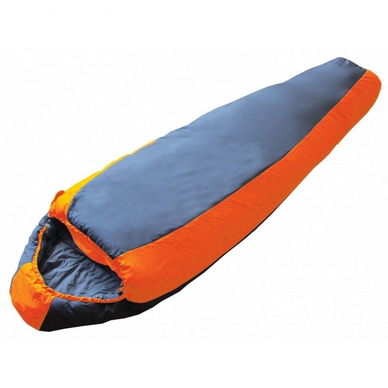 Спальный мешок BTrace Nord 3000 левый SO543 серый/оранжевый