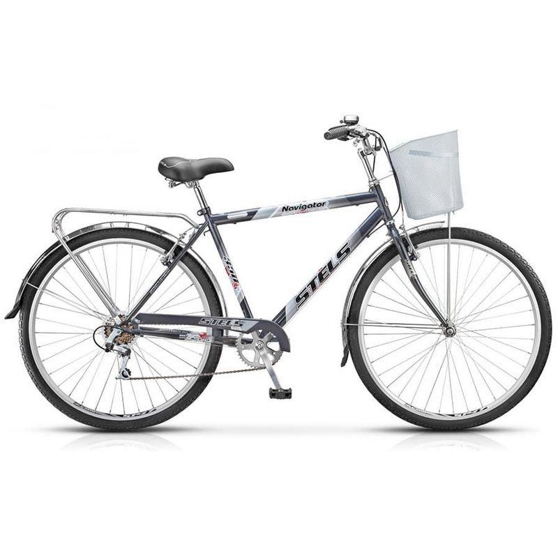 Купить Велосипед Stels Navigator 28 350 Gent Z010 (с корзиной) (LU085344),