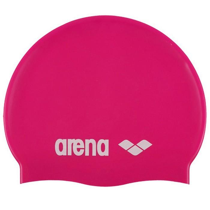 Купить Шапочка для плавания Arena Classic Silicone Jr 9167091 ярко-розовый,
