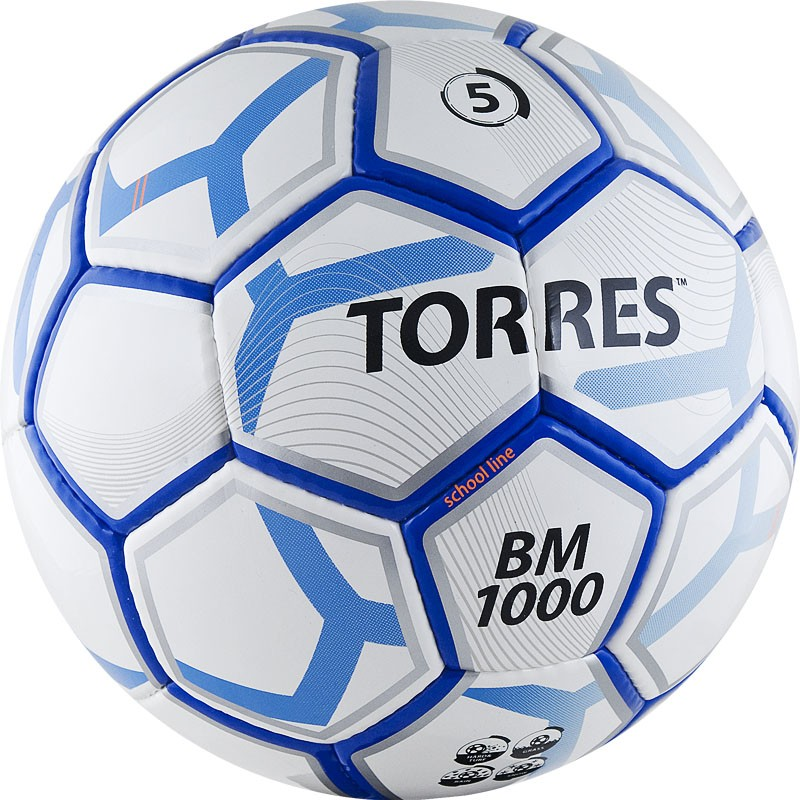 Купить Мяч футбольный Torres BM 1000 р.5 F30625,