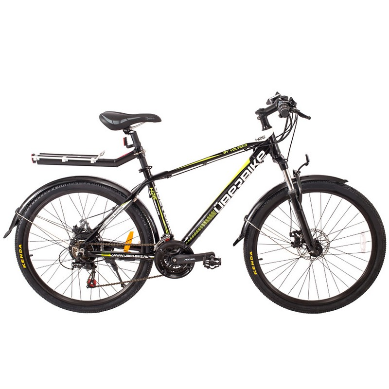 Велогибрид Uberbike H-26-350W Черный