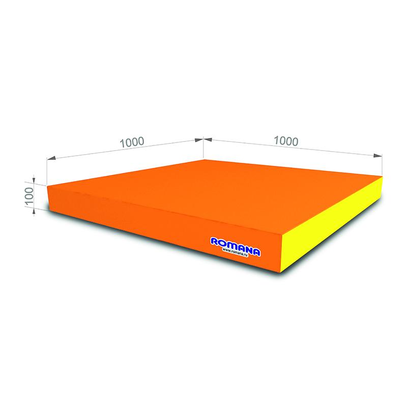 Купить Элемент мягкой формы 100x100x10 см Romana ДМФ-ЭЛК-14.01.00, Мягкие модули