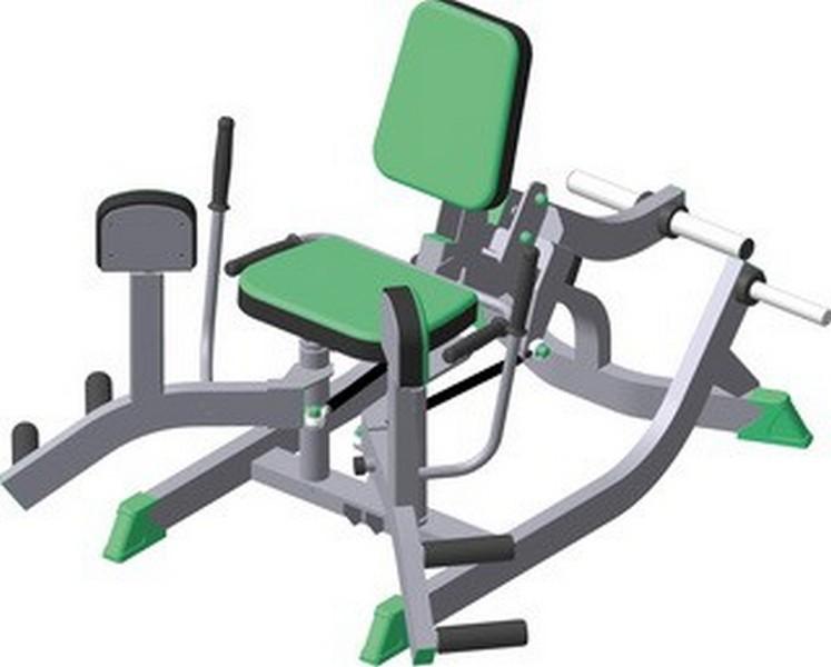 Тренажёр для приводящих мышц бедра (сведение ног) Vasil Gym В.1011 сушка для посуды и продуктов ругес водосток цвет светло зеленый серый металлик