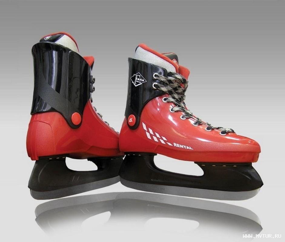 Хоккейные коньки Таха Rental RH-1 коньки taxa rental rk 1 boy р 38 41