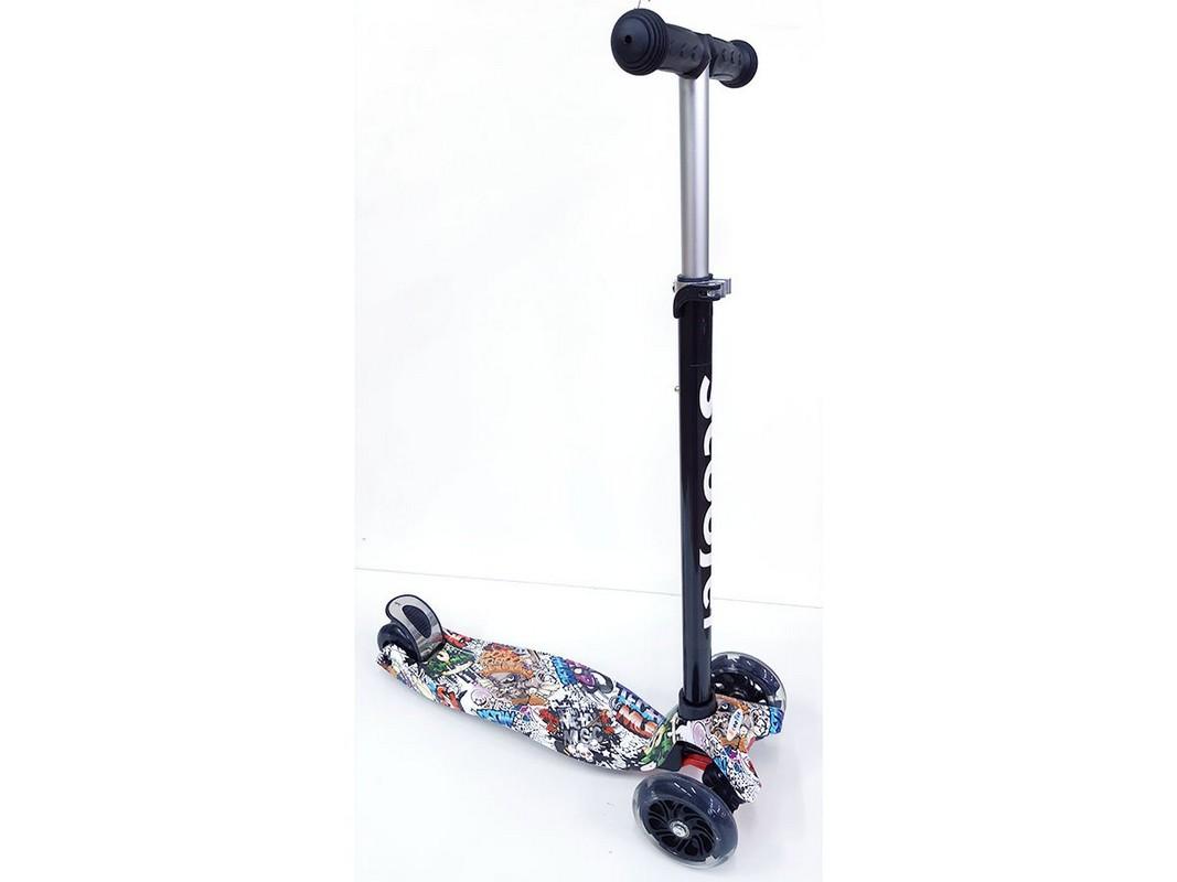 Купить Самокат тротинетка Scooter BKS-210 print,