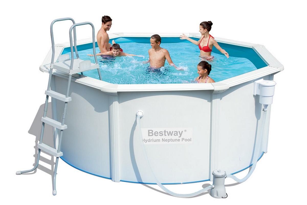 Купить Бассейн со стальными стенкам 300х120 см Bestway 56563,