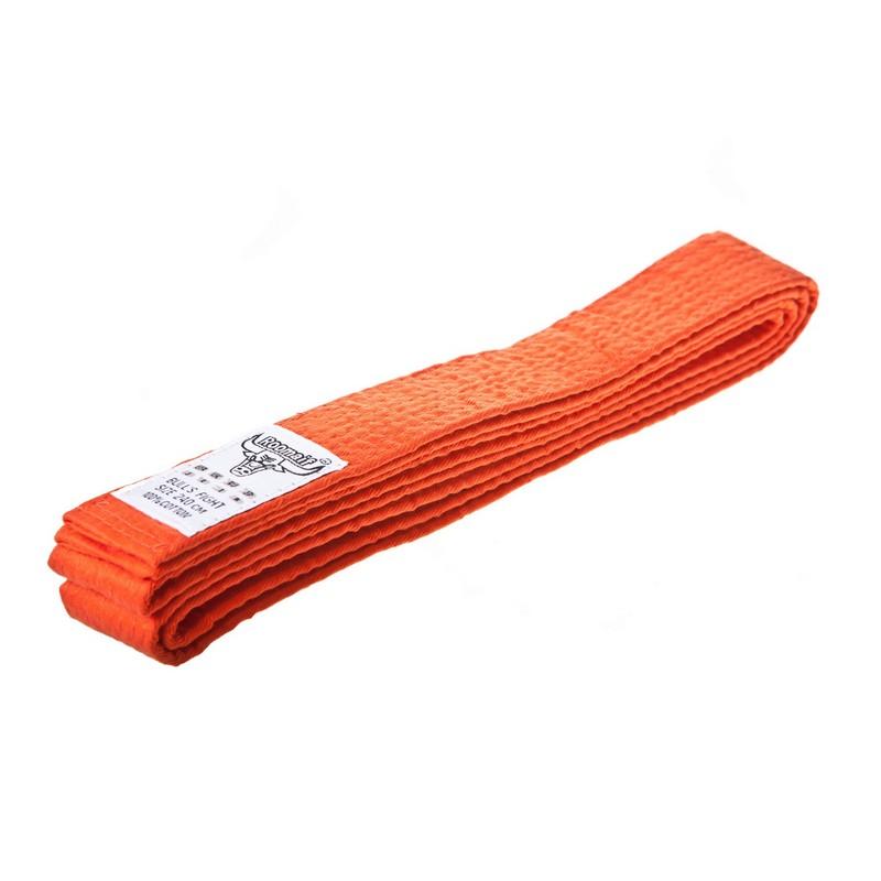 Пояс для карате Roomaif RKU-272 260 см оранжевый