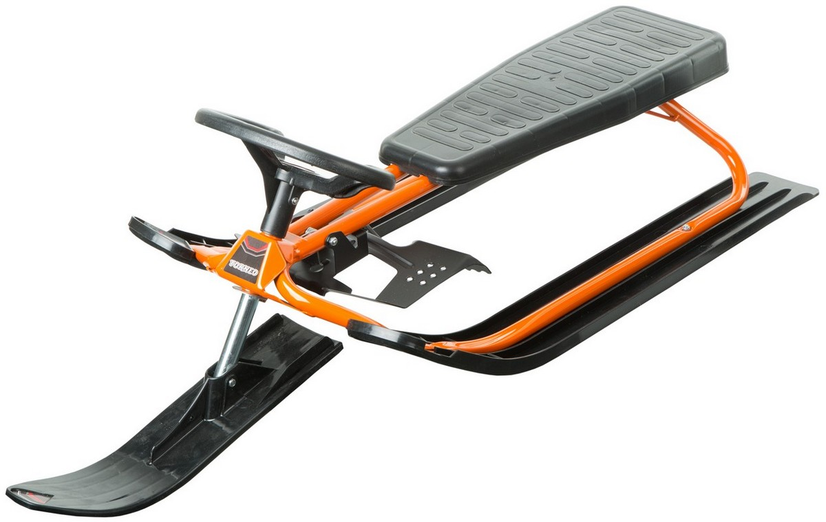 Снегокат Stiga Torneo Snow Racer with hard seat, оранжевый stiga снегокат stiga snow racer
