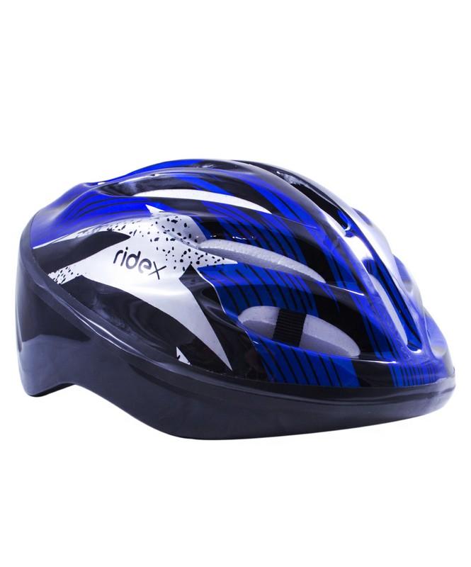 Шлем защитный Ridex Cyclone, синий/черный