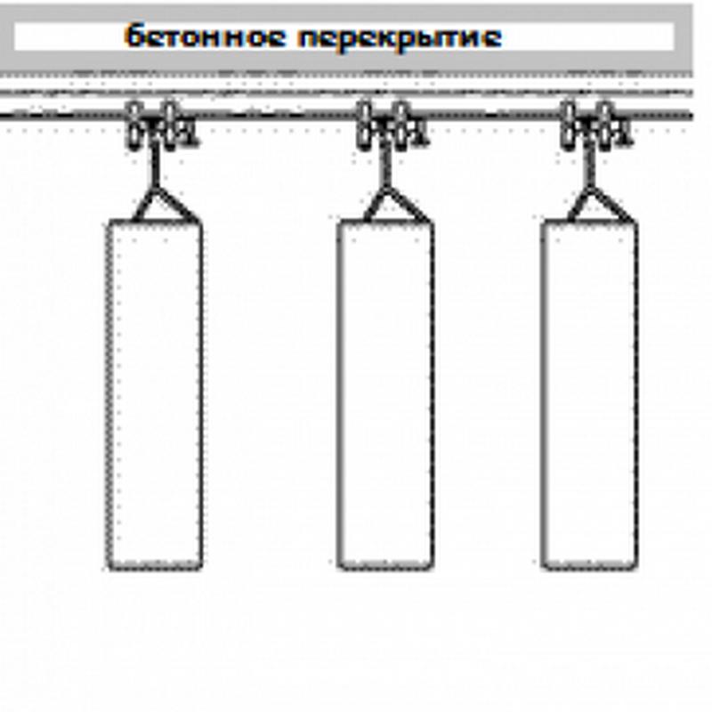 Подвесная система для боксерских мешков Hercules 4391