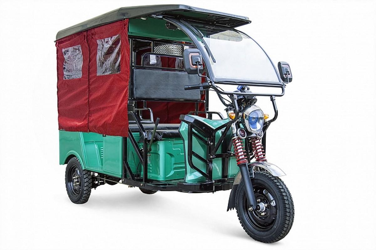Купить Трицикл RuTrike Рикша 60V1000W 022471-2239 зеленый,