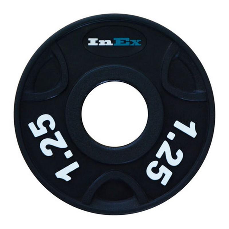 Купить Диск обрезиненный Inex GMAX с 3 выступами, 1,25 кг GRP-N-1,25KG плоская наклейка,