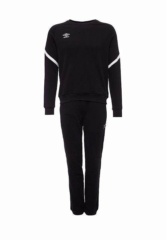 Костюм спортивный Umbro Avante Cotton Suit 350117 (061) чер/бел.