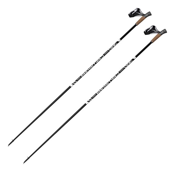 Купить Лыжные палки KV+ (20P009R) Campra Clip Skiroll Карбон 30% (черный),