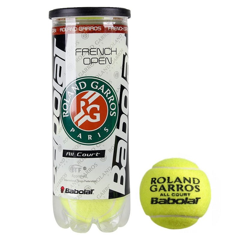 Купить Мяч теннисный 3 шт. Babolat French Open All Court 501042,