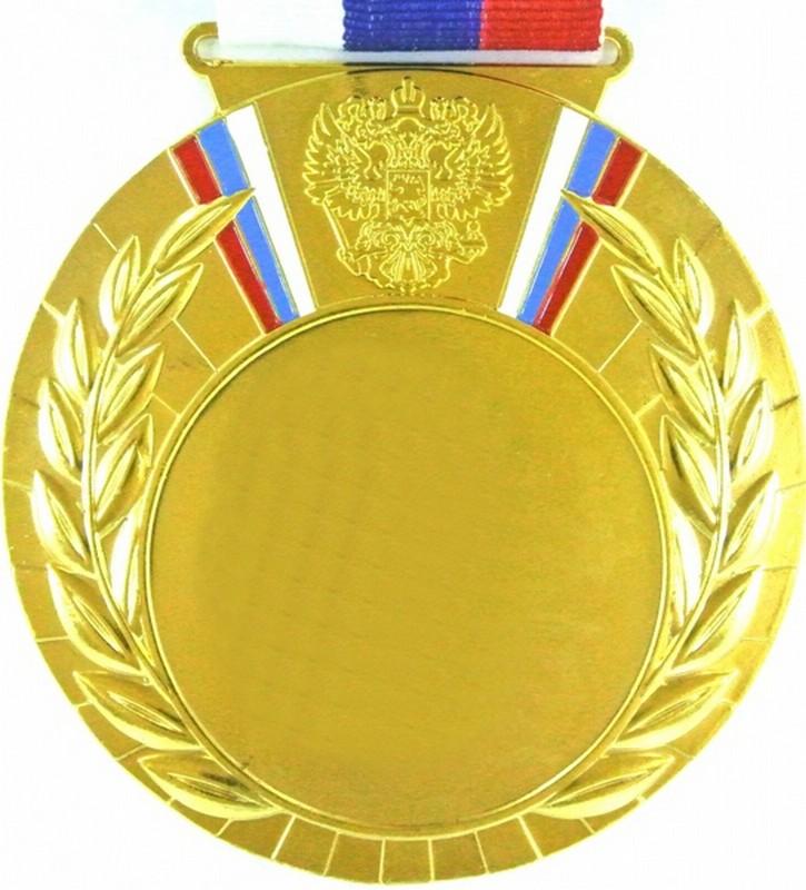 Медаль MD Rus. 80 G с лентой
