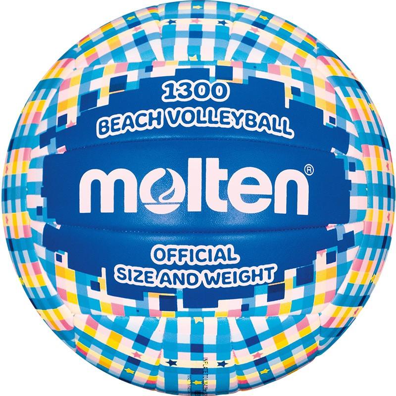 Купить Мяч любительский для пляжного волейбола Molten V5B1300-CB р.5,