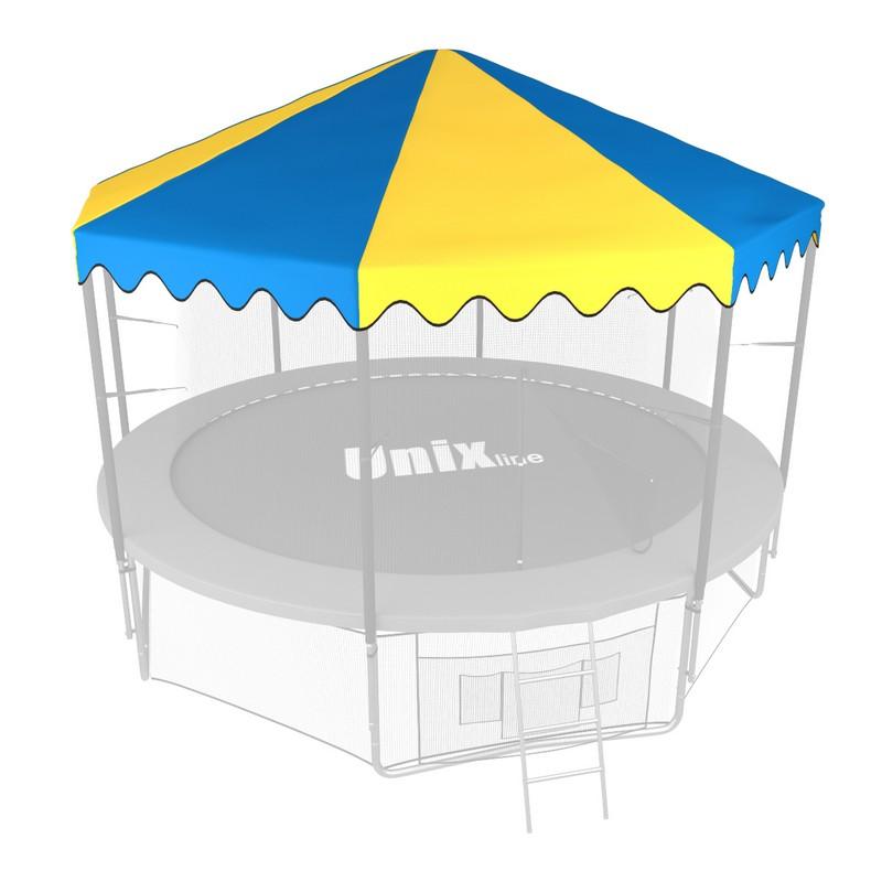 Крыша для батута Unix 10 ft синий