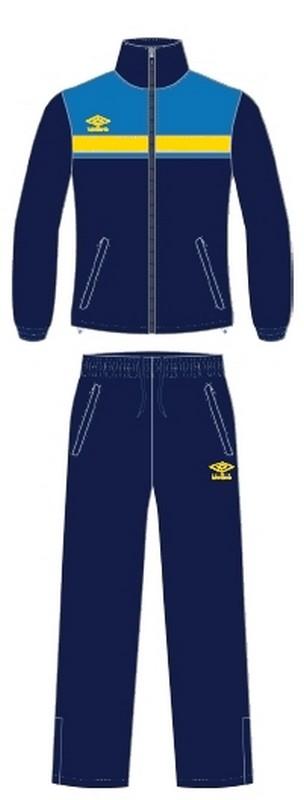 Костюм спортивный Umbro Smart Lined Suit мужской 462016 (973) т.син/син/жел.